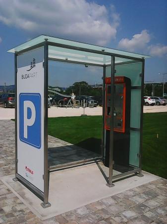 Parkoló jegykezelő