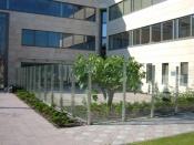 Üveg kerítés