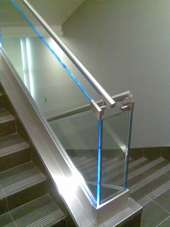 Lépcsőkorlát alsó szegése 2