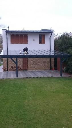 8 x 8 méteres tetőszerkezet